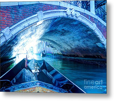 Metal Print featuring the photograph Route To Light by Hanza Turgul