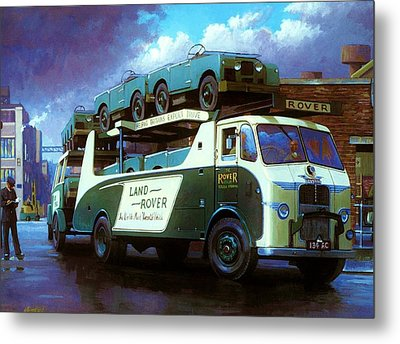 Rovers For Export. Metal Print by Mike  Jeffries