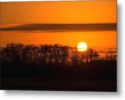Metal Print featuring the photograph Roxanna Sunrise by Bill Swartwout