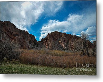 Roxborough Cragginess Metal Print