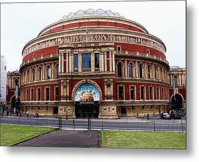Royal Albert Hall London Metal Print by Nicky Jameson