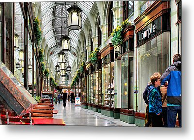 Royal Arcade Metal Print by Pedro Fernandez