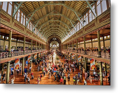 Royal Exhibition Building IIi Metal Print