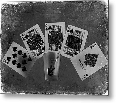 Royal Flush In Nashville Tennessee Metal Print