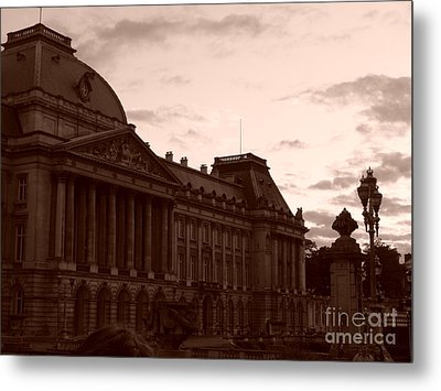 Royal Palace Brussels Metal Print