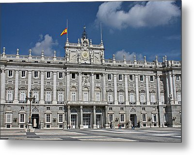 Metal Print featuring the photograph Royal Palace Of Madrid by Farol Tomson
