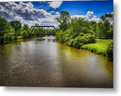 Metal Print featuring the photograph Royal River by Mark Myhaver