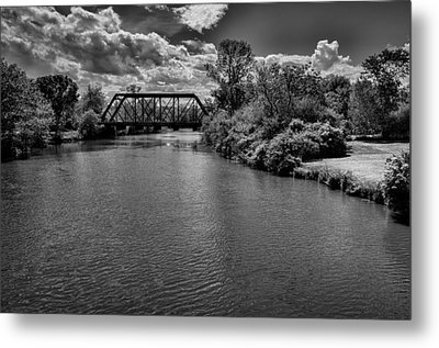 Royal River No.2 Metal Print by Mark Myhaver