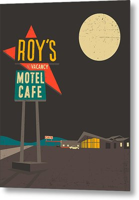Roys Cafe Metal Print by Jazzberry Blue