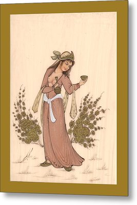 Rubaiyat Metal Print by Herbert French