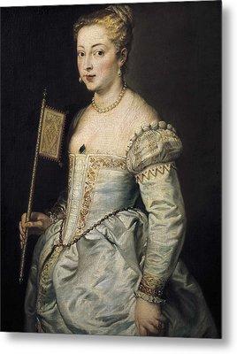 Rubens, Peter Paul 1577-1640. A Woman Metal Print by Everett