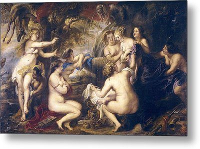 Rubens, Peter Paul 1577-1640. Diana Metal Print by Everett