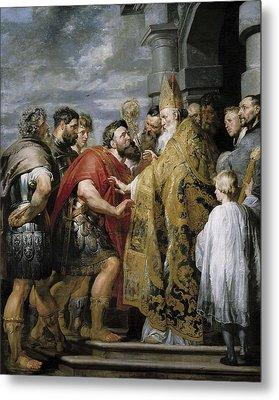 Rubens, Peter Paul 1577-1640. Saint Metal Print by Everett