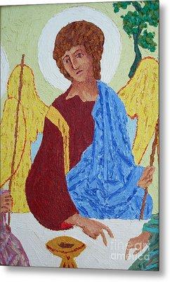 Rublev Angel Metal Print by Phillip Castaldi