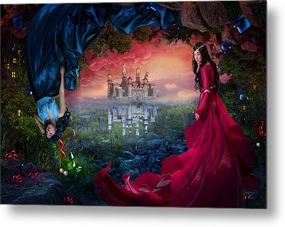 Ruby Metal Print by Cassiopeia Art