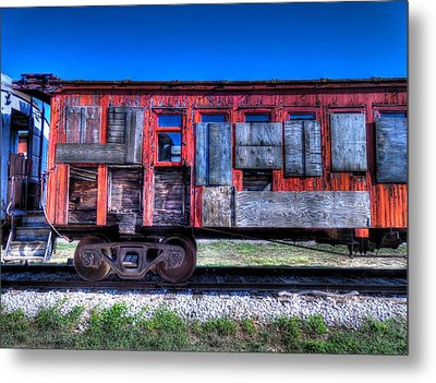 Ruby On Rails Metal Print