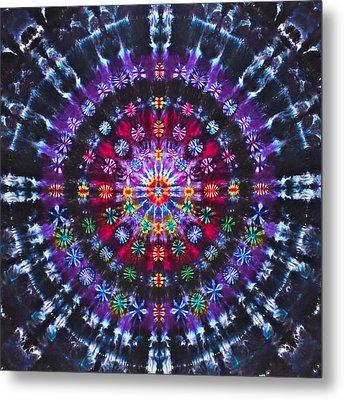 Ruby Quasar Metal Print by Courtenay Pollock
