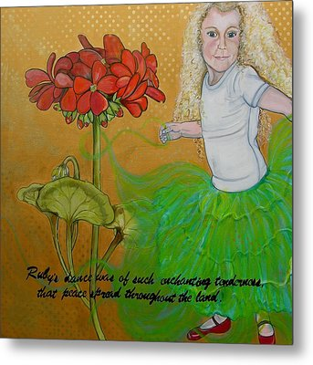Ruby's Dance Metal Print