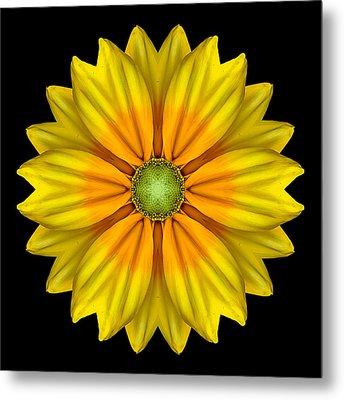 Rudbeckia Prairie Sun I Flower Mandala Metal Print