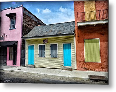 Rue Burgundy Metal Print by Bill Cannon