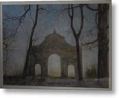 Ruins In A Place Called Heaven Gate Metal Print by Paez  Antonio
