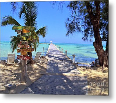Rum Point Metal Print by Carey Chen