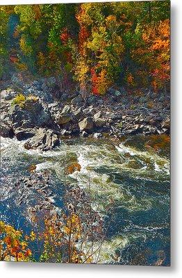 Rumford Falls 15 Metal Print by George Ramos