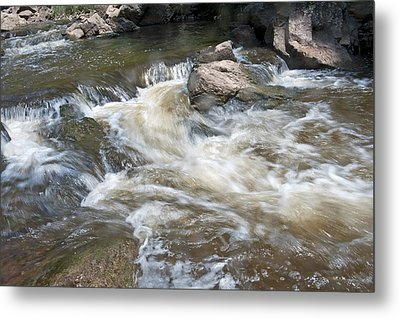 Running River Metal Print by Marek Poplawski