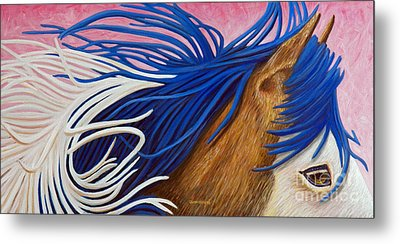 Running Thunder Metal Print by Brian  Commerford