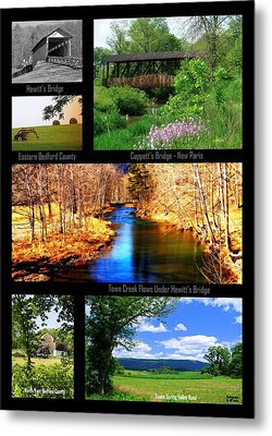 Rural Bedford County Metal Print