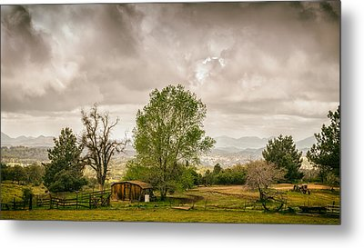 Rural East County Metal Print by Joseph Smith
