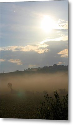 Rural Morning Metal Print by Angie Phillips
