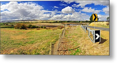 Rural Tasmania #2 Metal Print by Terry Everson
