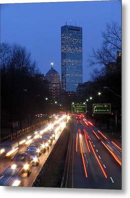 Rush Hour Metal Print by Juergen Roth