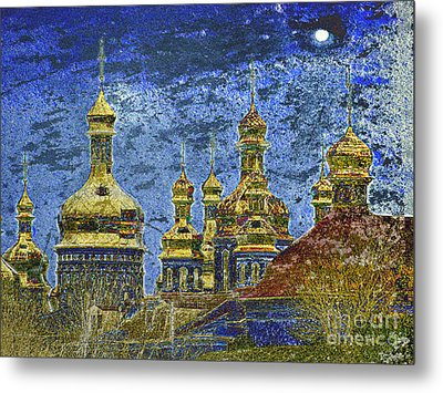 Metal Print featuring the photograph Russia by Irina Hays