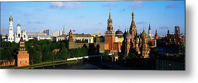 Russia, Moscow, Red Square Metal Print by Panoramic Images