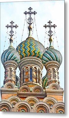 Russian Orthodox Church Of Nativity Metal Print by Fabrizio Palumbo