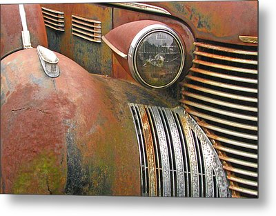 Rust ... The Other Color Metal Print