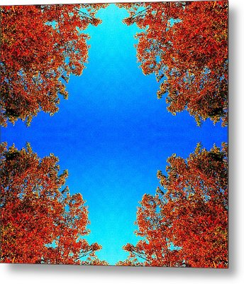 Metal Print featuring the photograph Rust And Sky 1 - Abstract Art Photo by Marianne Dow