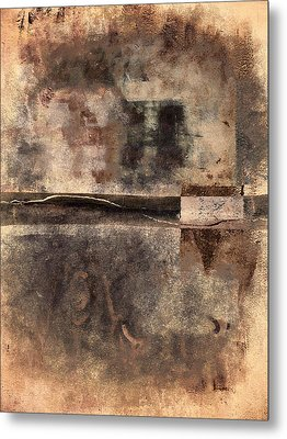 Rust And Walls No. 2 Metal Print by Carol Leigh