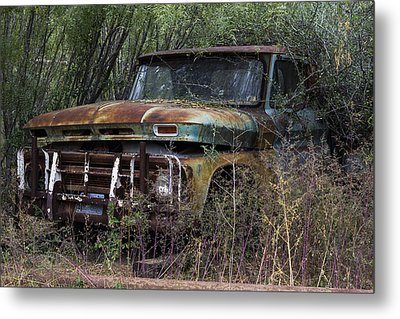 Rust Bucket Metal Print by Amber Kresge