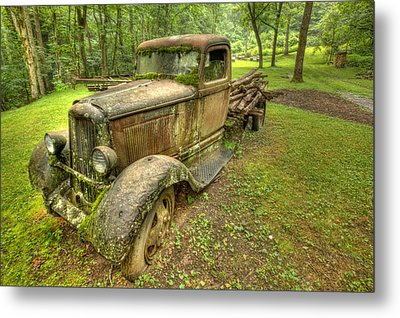 Rust In Peace Metal Print by Doug McPherson
