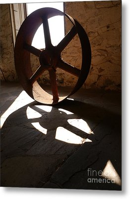 Rust In Peace Metal Print by Jane Ford
