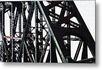 Rust Metal Print by Jenny Bowman