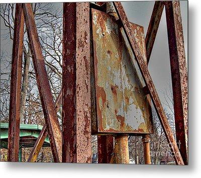 Rust Metal Print by MJ Olsen