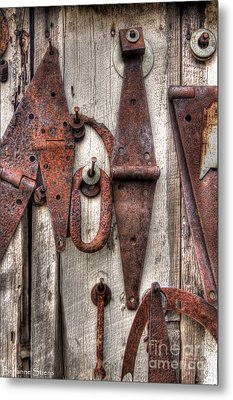 Rusted Past Metal Print by Benanne Stiens