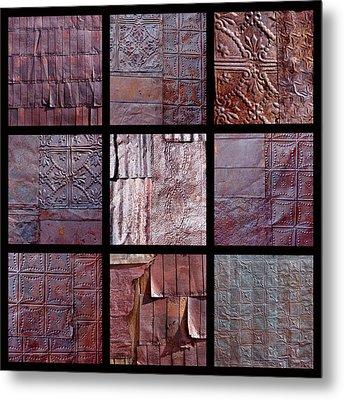 Rusted Tin Metal Print