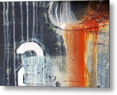 Rusted Waterfall Metal Print by Jani Freimann