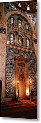 Rustem Pasa Mosque Istanbul Turkey Metal Print by Panoramic Images
