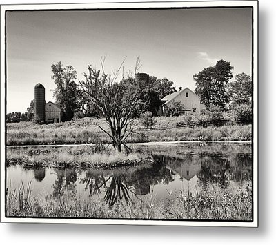 Rustic Charm Metal Print by Tom Druin